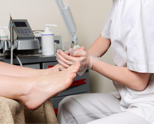 nagy vörös folt a láb diabetes mellitusán